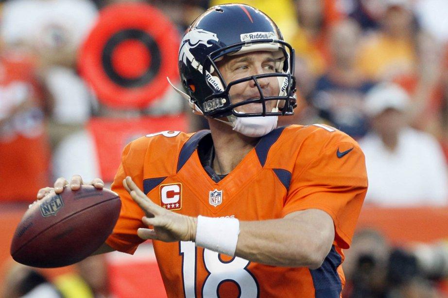 Peyton Manning a réussi sa 400e passe de... (Photo: Reuters)