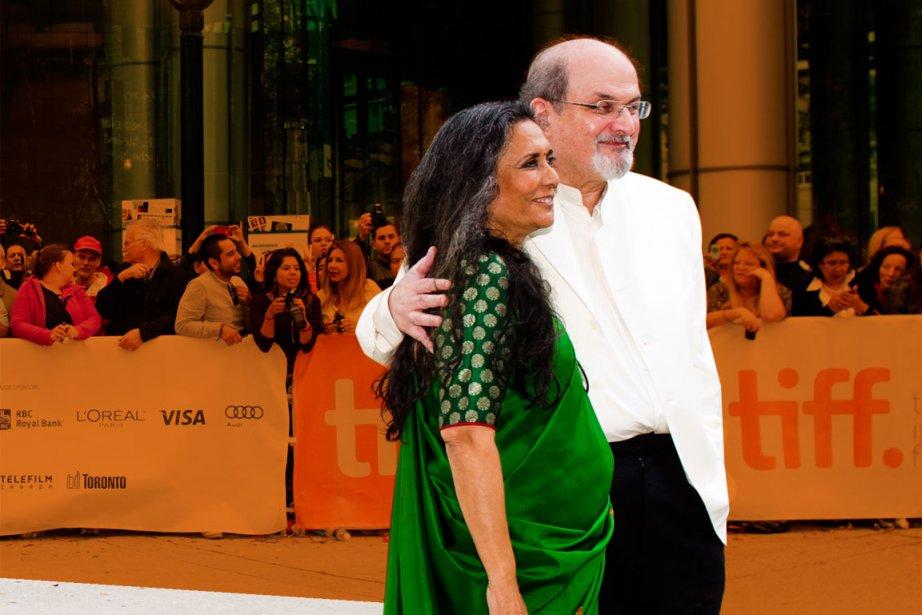 Deepa Mehta et Salman Rushdie... (PHOTO CHRIS YOUNG, LA PRESSE CANADIENNE)