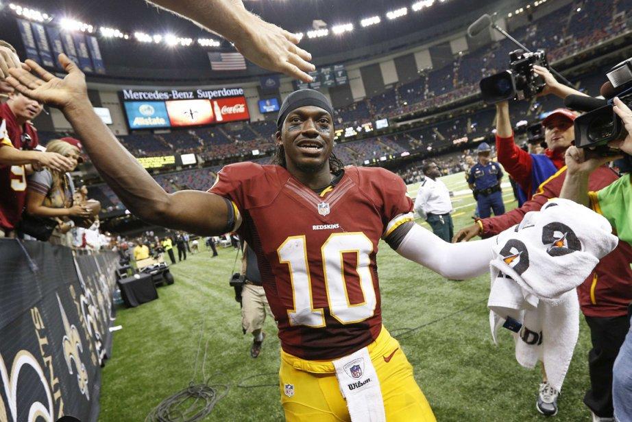 Le quart des Redskins Robert Griffin  III... (Photo: Reuters)