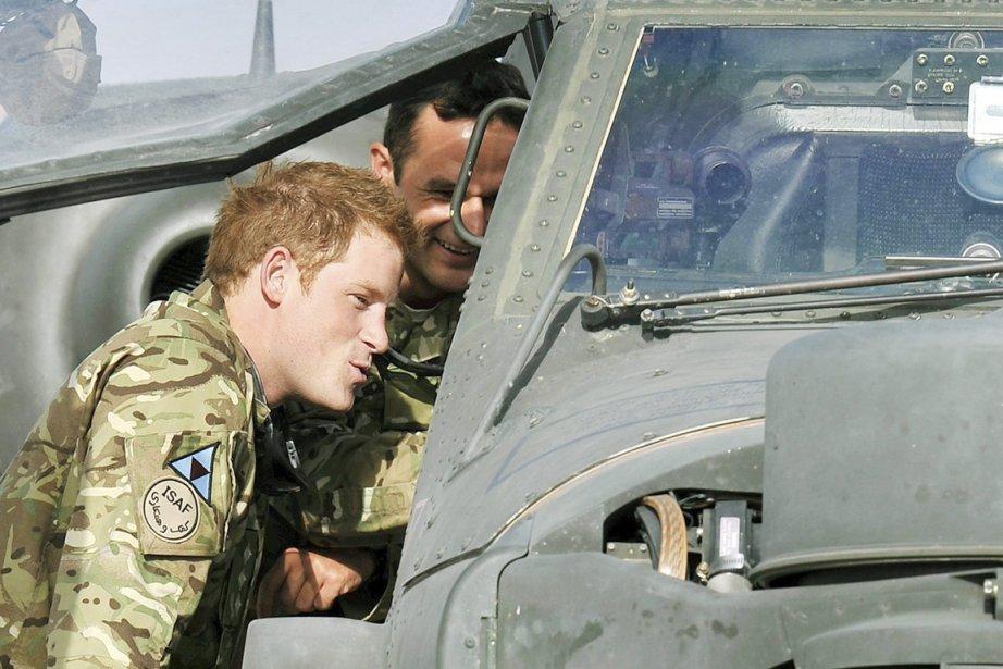 Le prince Harry, 27 ans, connu sous le... (PHOTO  JOHN STILLWELL, AP)