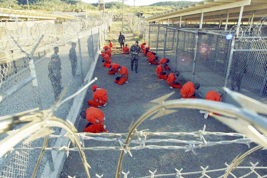 La prison de Guantanamo, où certains des plaignants... (PHOTO SHANE T. MCCOY, REUTERS)