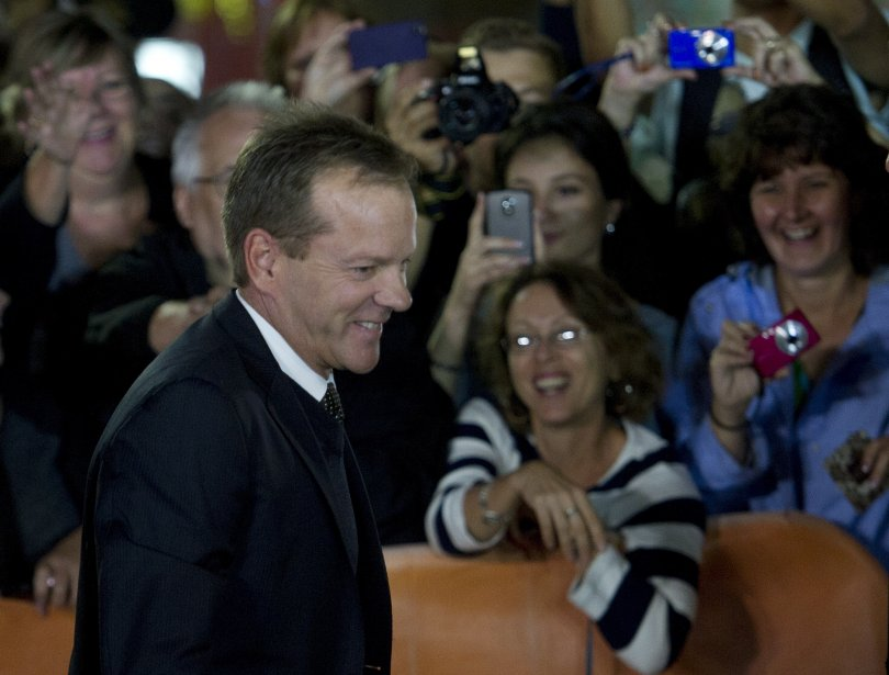 Kiefer Sutherland pour le film  «The Reluctant Fundamentalist» | 10 septembre 2012