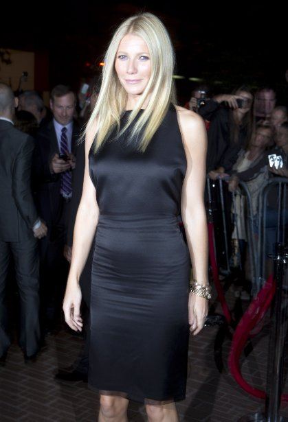 Gwyneth Paltrow pour le film «Thanks For Sharing» | 10 septembre 2012