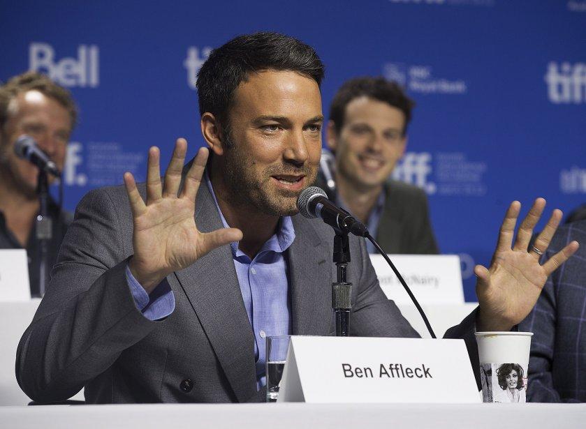 Ben Affleck pour «Argo» | 10 septembre 2012