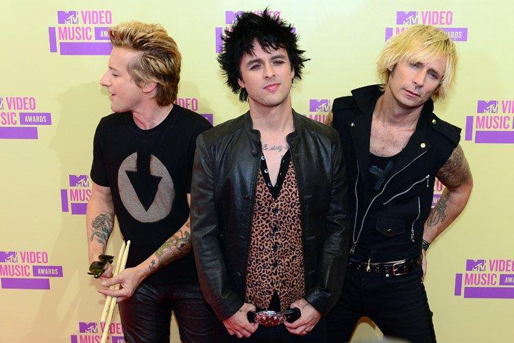 La formation Green Day se produira au Colisée Pepsi de Québec le... (Photo: AFP)