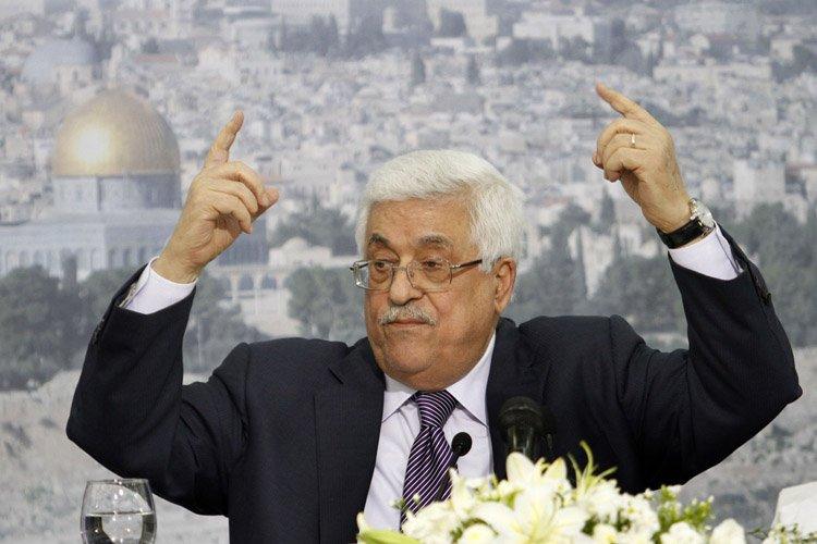 Mahmoud Abbas a annoncé samedi qu'il lancerait les... (Photo: AP)