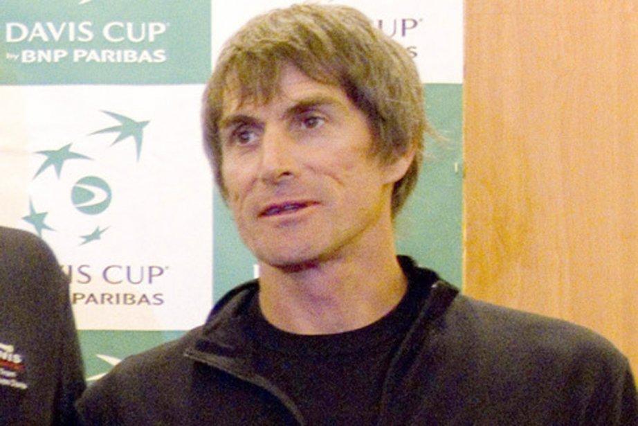 Le capitaine de l'équipe canadienne de Coupe Davis,... (Photo: AP)