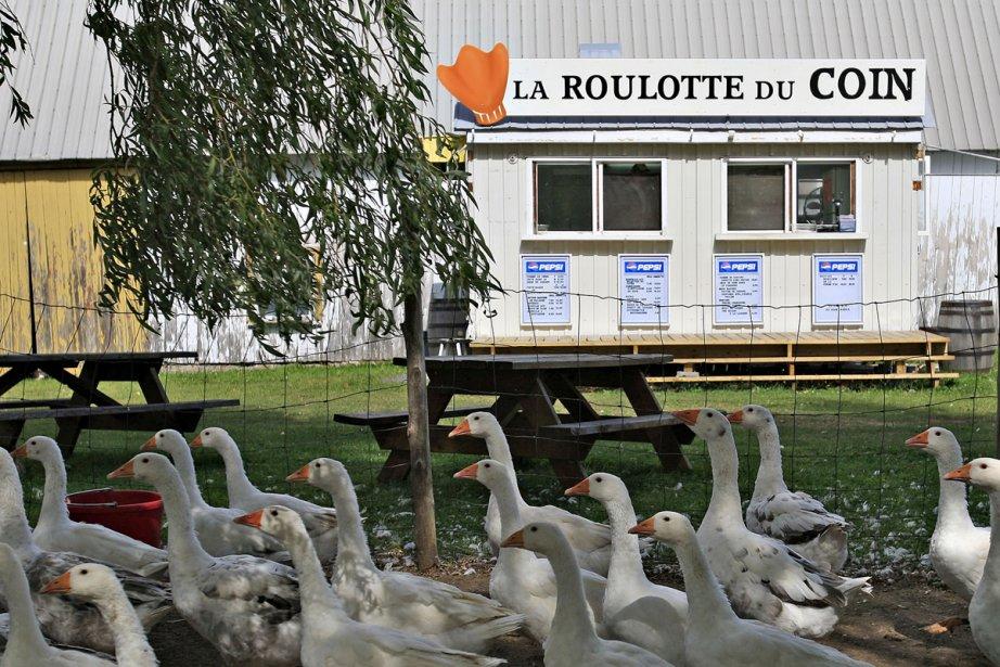 La Roulotte du coin propose notamment de la... (Photo: Pascal Ratthé, Le Soleil)