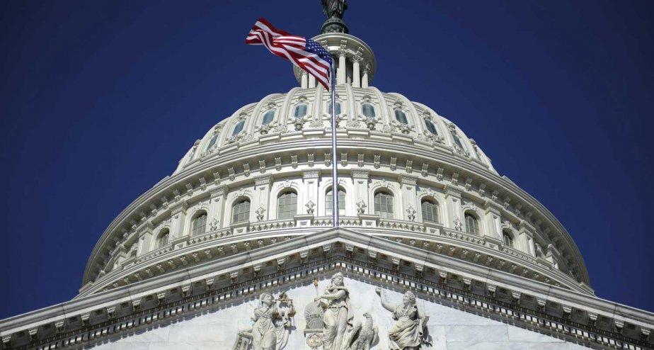 Le Capitole, à Washington.... (PHOTO JONATHAN ERNST, REUTERS)