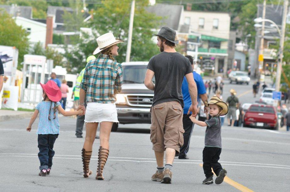 Charlie, Marie-Pierre, Yan et Nolan Boissonnault. | 11 septembre 2012