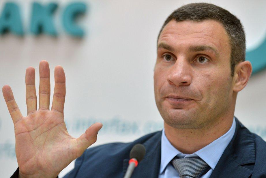 Le champion boxeur ukrainien Vitali Klitschko.... (Photo archives AFP)
