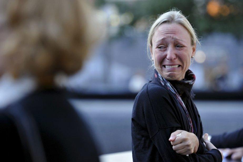 Carrie Bergonia a perdu son fiancé, le pompier Joseph Ogren, qui est mort lors des attaques du 11 septembre 2001. | 11 septembre 2012