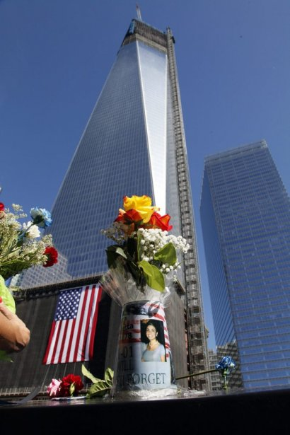 La nouvelle tour, le 1 World Trade Center. | 11 septembre 2012