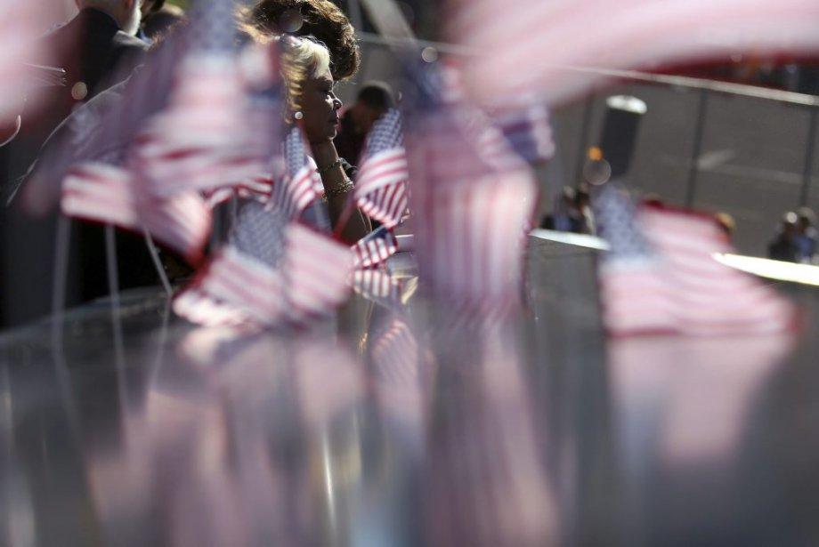 Virginia Pacheco, qui a perdu son fils Roland Pacheco lors des attentats du 11 septembre 2001, était présente aux cérémonies cet après-midi à New York. | 11 septembre 2012