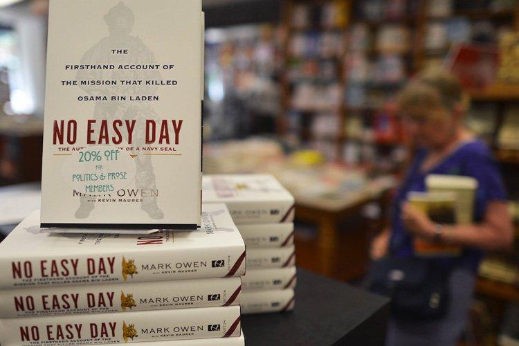 No Easy Day a été écrit par un... (Photo: AFP)