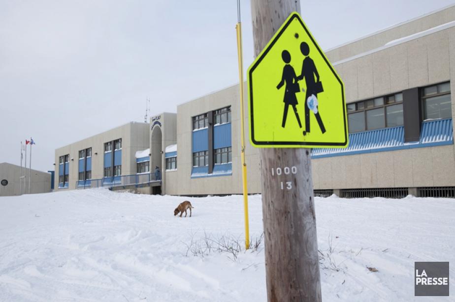 La Commission scolaire Kativik, à Kuujjaq, a changé... (Archives La Presse)