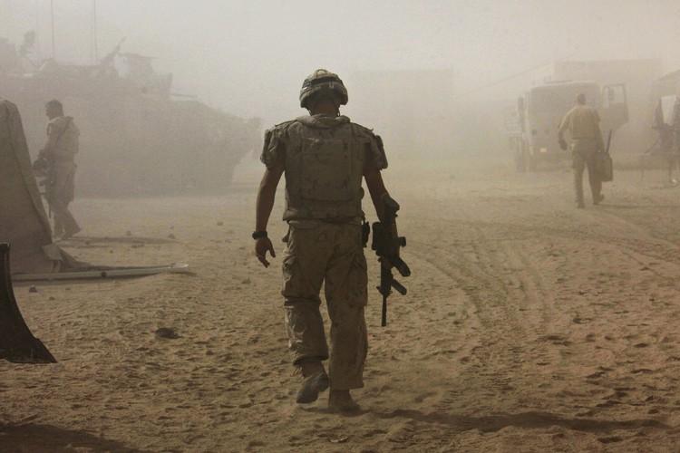 Un nouveau rapport du Médecin général des armées... (Photo archives Reuters)
