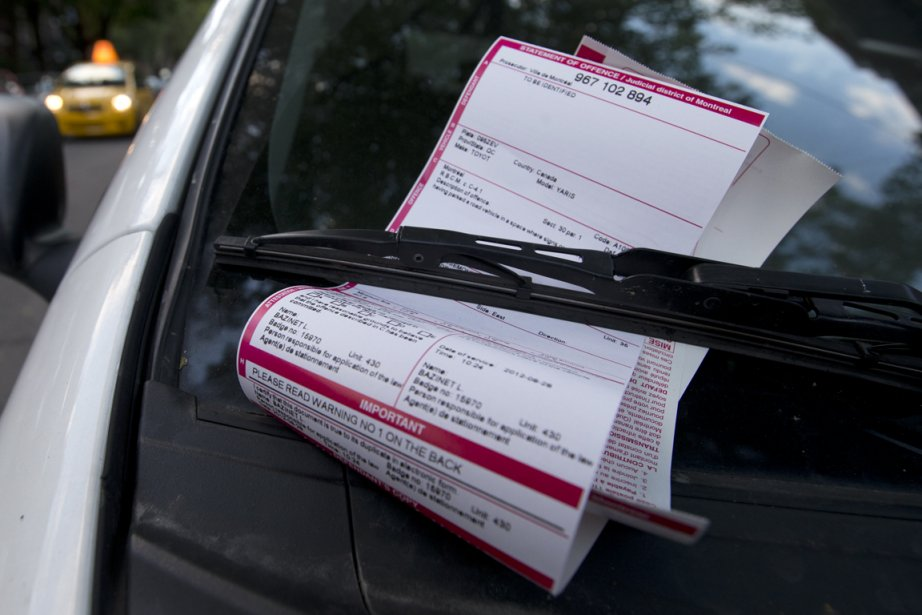 En janvier, 40 429 constats ont été donnés... (Photo Robert Skinner, archives La Presse)