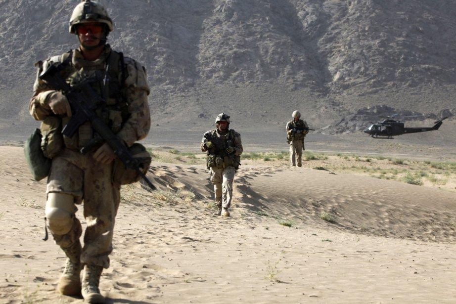 Près du tiers des soldats canadiens ayant pris... (Photo archives Reuters)