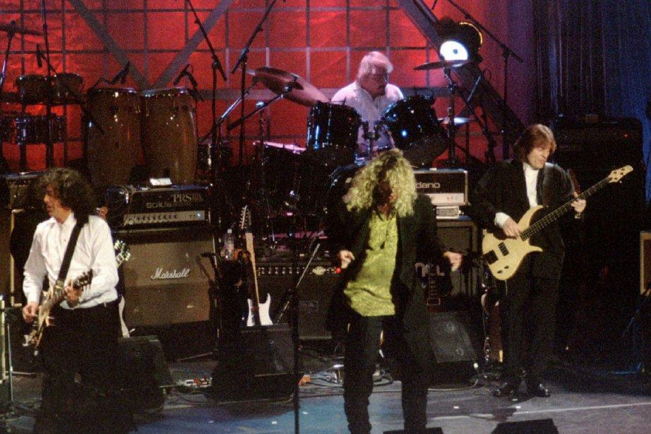 Led Zeppelin se verra récompensé le 2 décembre... (PHOTO ARCHIVES REUTERS)