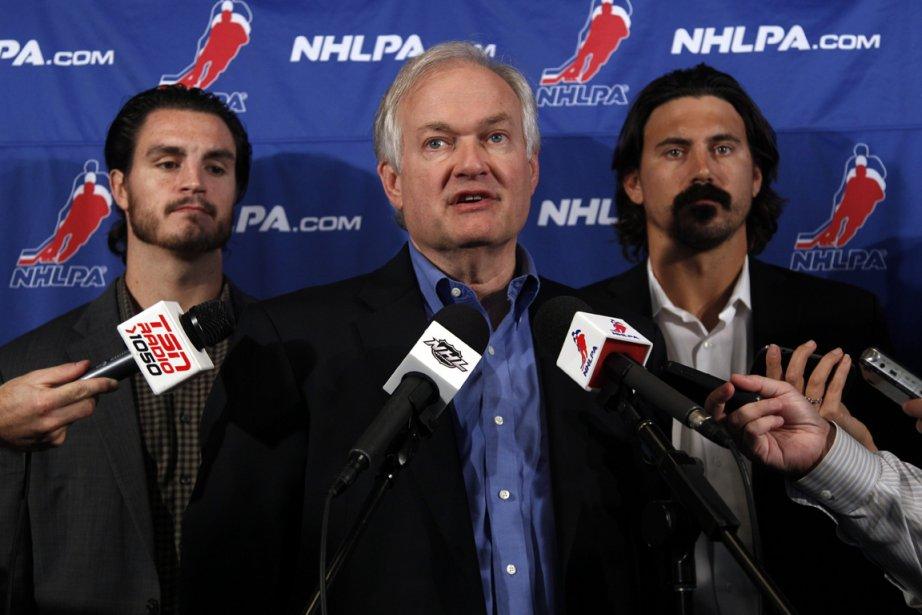 Donald Fehr, patron de l'Association des joueurs de... (Photo: AP)