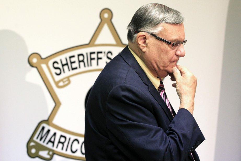 Le shérif «le dur des États-Unis» Joe Arpaio.... (PHOTO ROSS D. FRANKLIN, ARCHIVES AP)