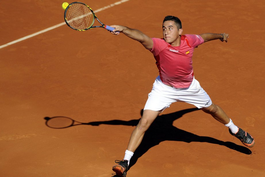 L'Espagnol Nicolas Almagro a battu l'Américain John Isner... (Photo: AFP)