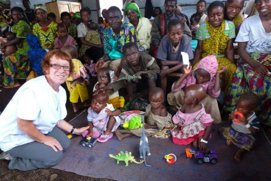 À Kitchanga, explique Claudette Seyer, la médecine ne... (PHOTO FOURNIE PAR CLAUDETTE SEYER)