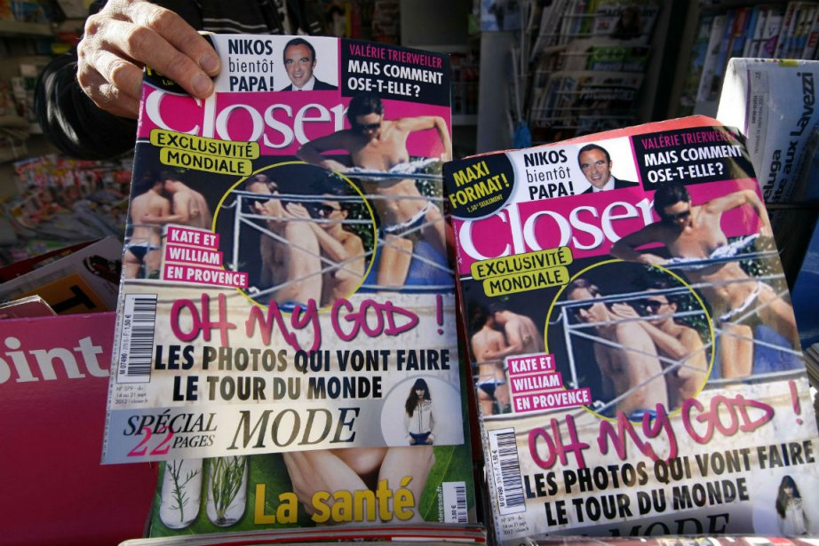 Closer, le magazine qui a publié des photos... (PHOTO REUTERS)