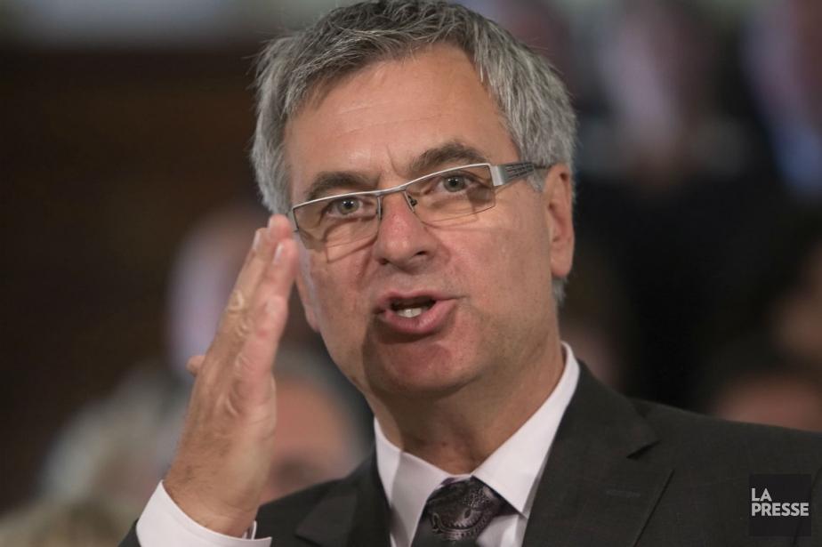 Le nouveau chef intérimaire du Parti libéral, Jean-Marc... (Photo Clément Allard, La Presse Canadienne)