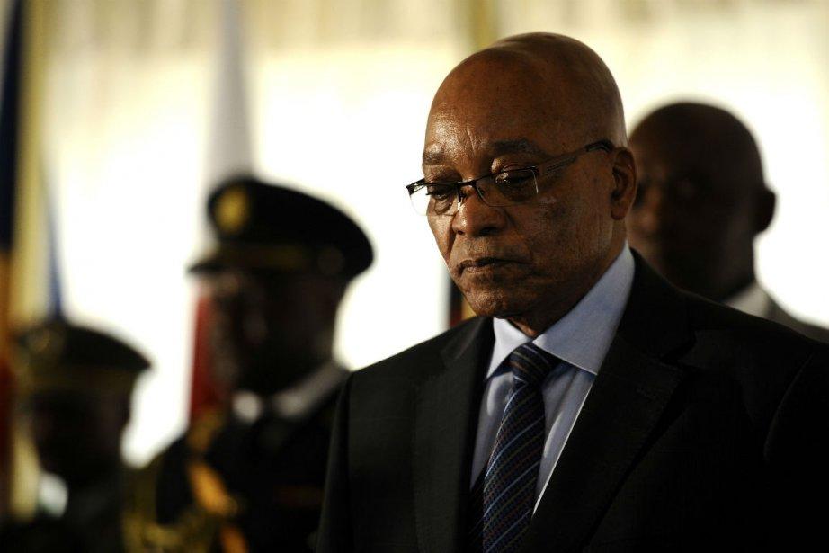 Le président de l'Afrique du Sud, Jacob Zuma.... (Photo Stéphane De Sakutin, Agence France-Presse)