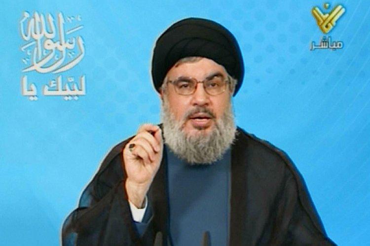 Hassan Nasrallah s'est adressé dimanche aux «musulmans du... (Photo: AFP)