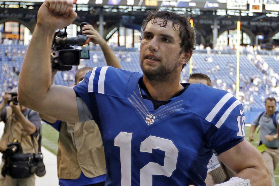 Andrew Luck... (Photo Michael Conroy, Associated Press)