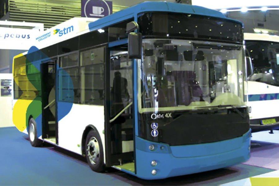 Le Consortium Bus Électrique travaille sur l'autobus LFS.... (Illustration fournie par la STM)