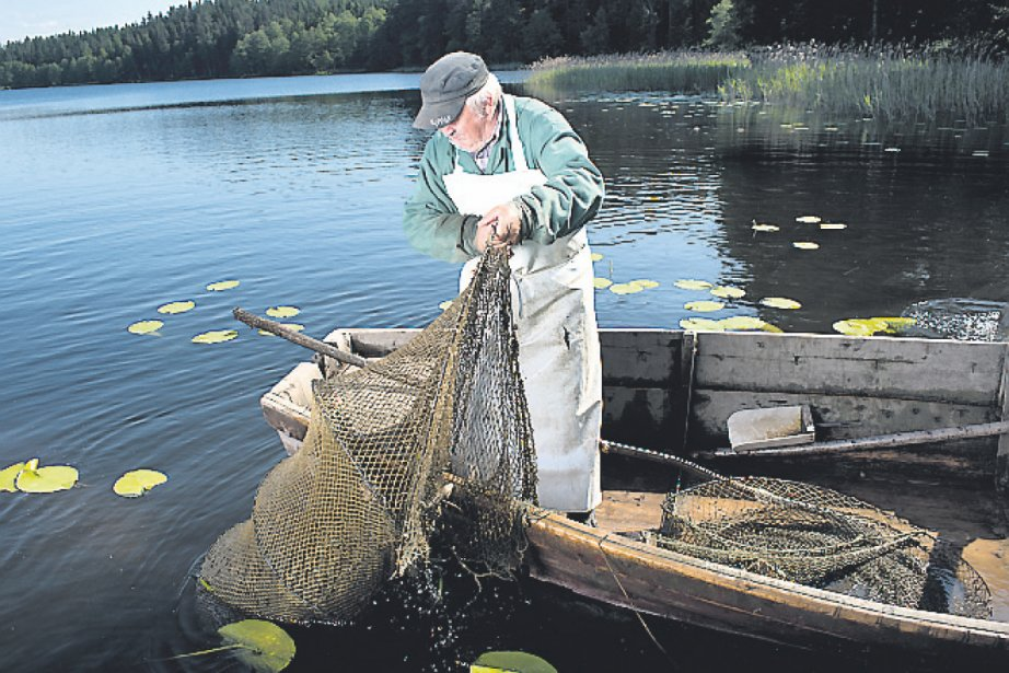 Le pêcheur Kazimierz Zebriwski.... (Photo Julio Moya, collaboration spéciale)