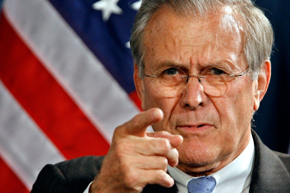Donald Rumsfeld... (PHOTO GETTY IMAGES)