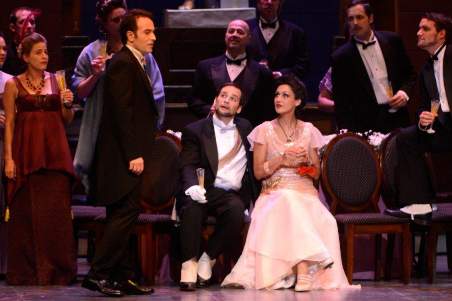 L'Opéra de Montréal ouvre sa 33e saison avec... (PHOTO BERNARD BRAULT, LA PRESSE)