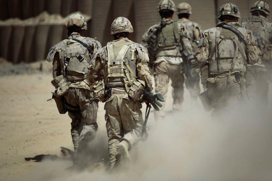 Soldats canadiens en Afghanistan.... (PHOTO ANJA NIEDRINGHAUS, ARCHIVES ASSOCIATED PRESS)