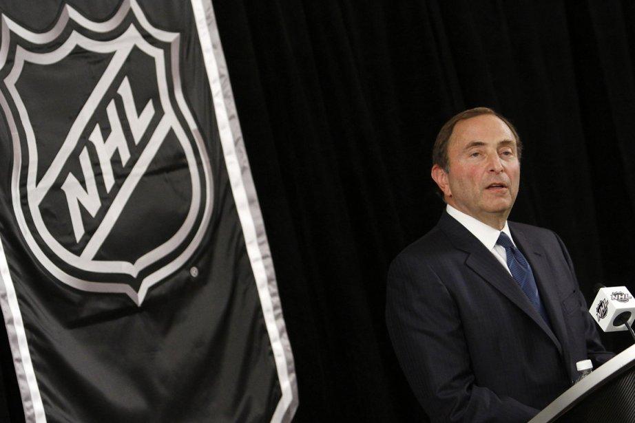 Le commissaire de la Ligue nationale de hockey,... (Photo: Reuters)