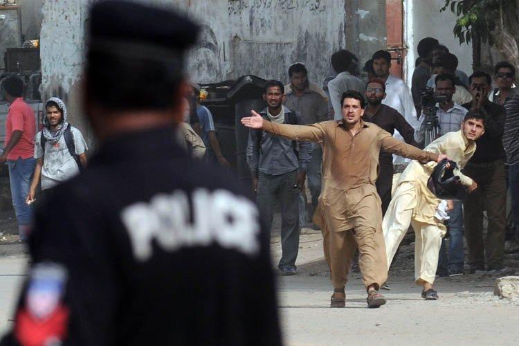 Au Pakistan, une personne a été tuée et... (Photo: AFP)