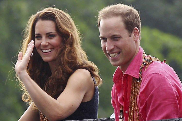 Kate et William ont visité les îles Salomon,... (Photo: AFP)