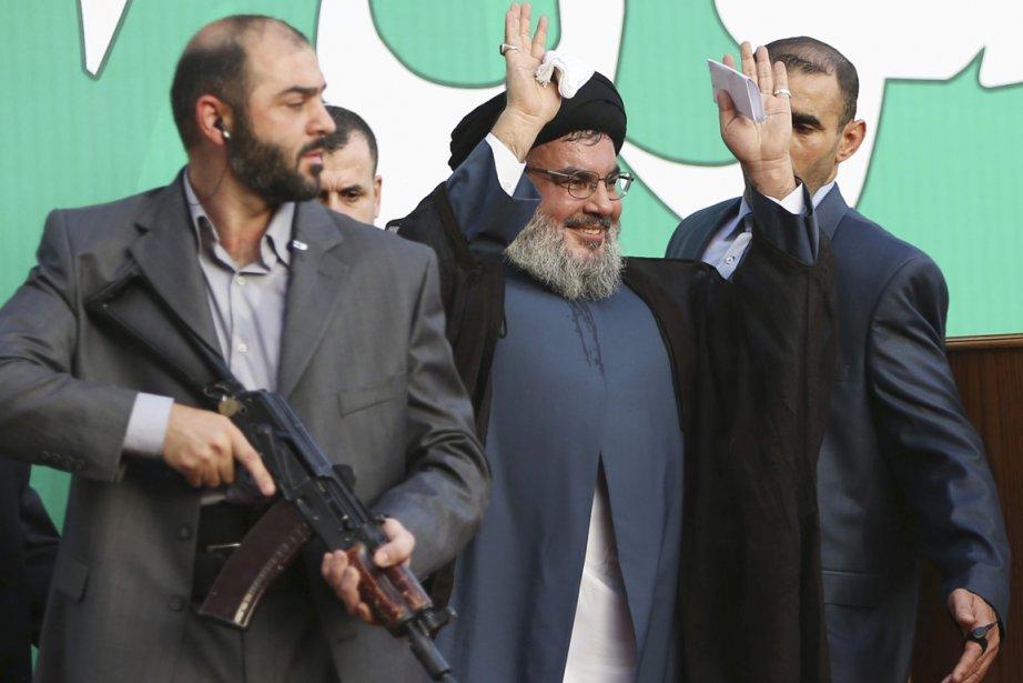 Hassan Nasrallah, chef du Hezbollah, s'en est pris... (PHOTO HUSSEIN MALLA, AP)