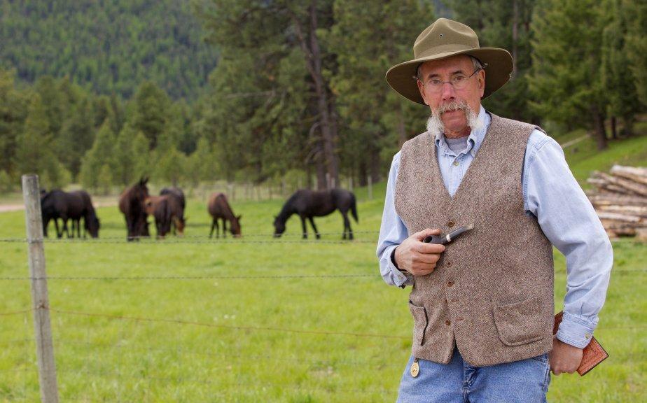 Le Montana est une terre rustique, vaste, peuplée de vaches et de chevaux, mais...