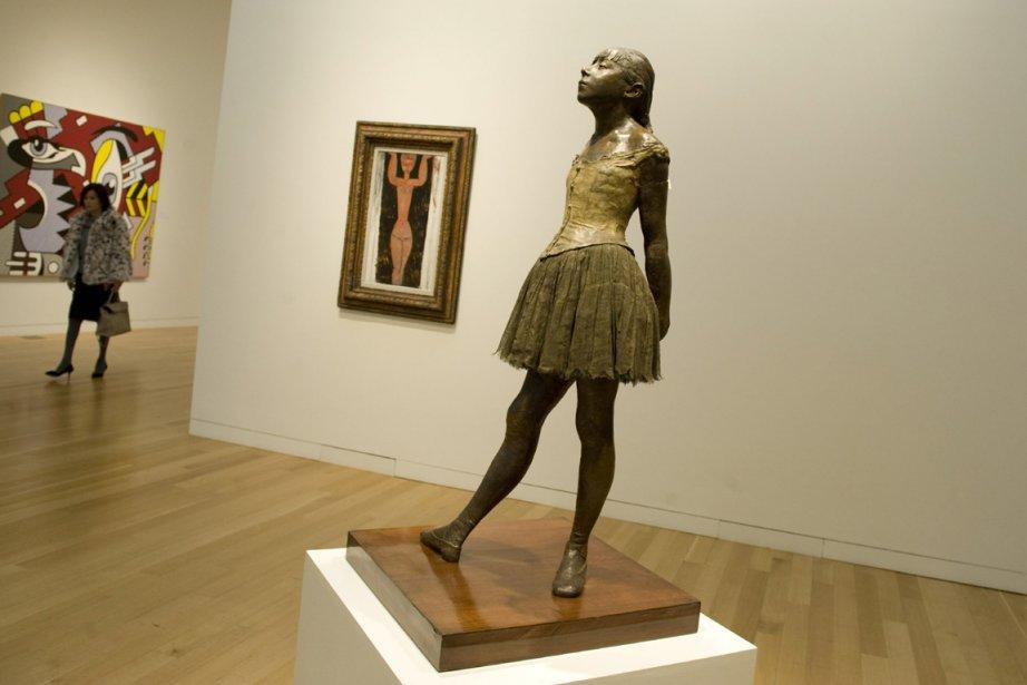 La Petite danseuse de quatorze ans... (PHOTO DON EMMERT, ARCHIVES AFP)