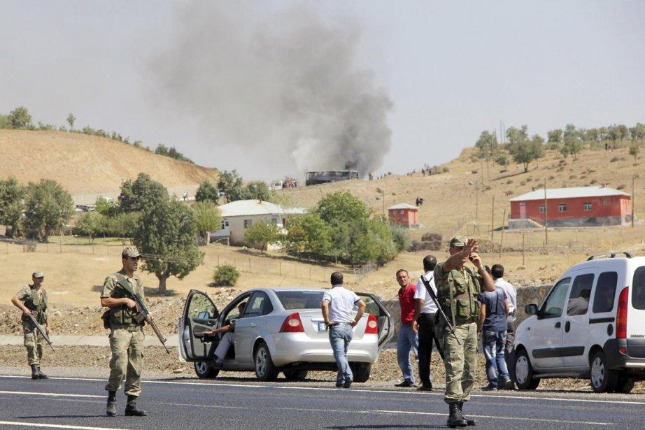 L'attaque des rebelles du Parti des travailleurs du... (PHOTO REUTERS)