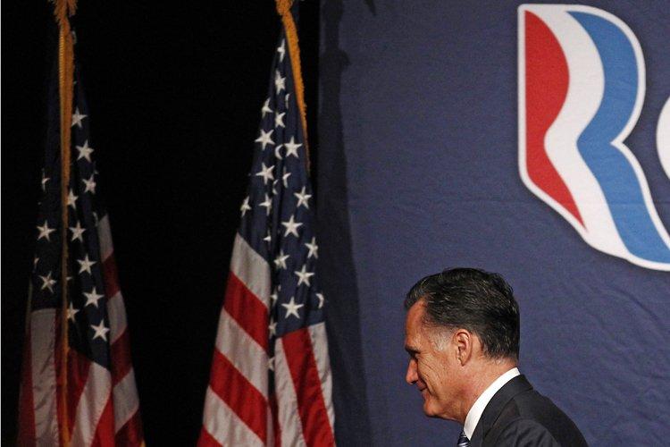Le républicain Mitt Romney se retrouvait mardi dans une... (Photo: Reuters)