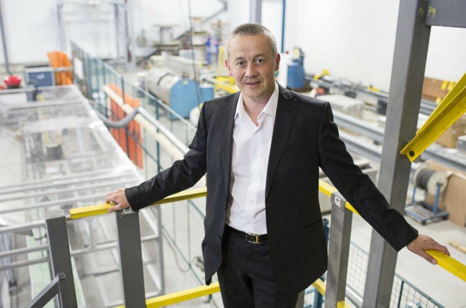 Frank Willier, directeur général de Cicame Énergie, sait... (Photo Olivier Pontbriand, La Presse)