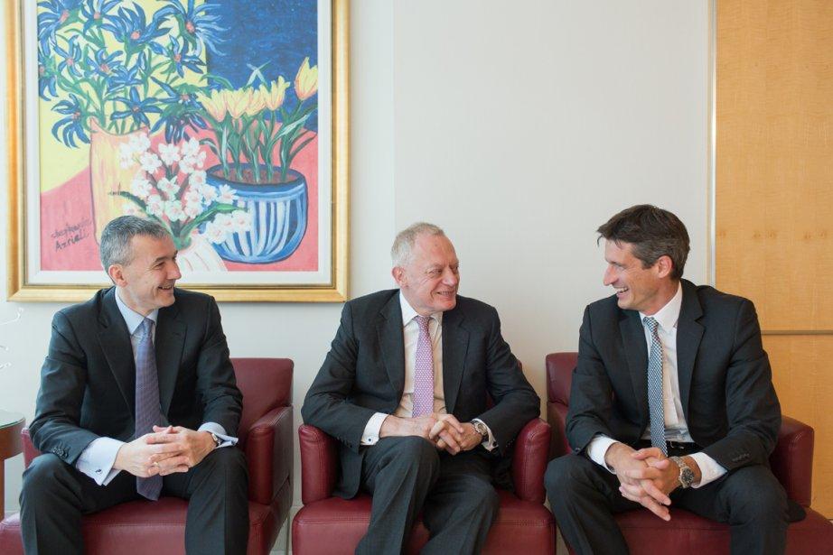 David Nish, président et chef de la direction... (Photo Edouard Plante-Fréchette, La Presse)
