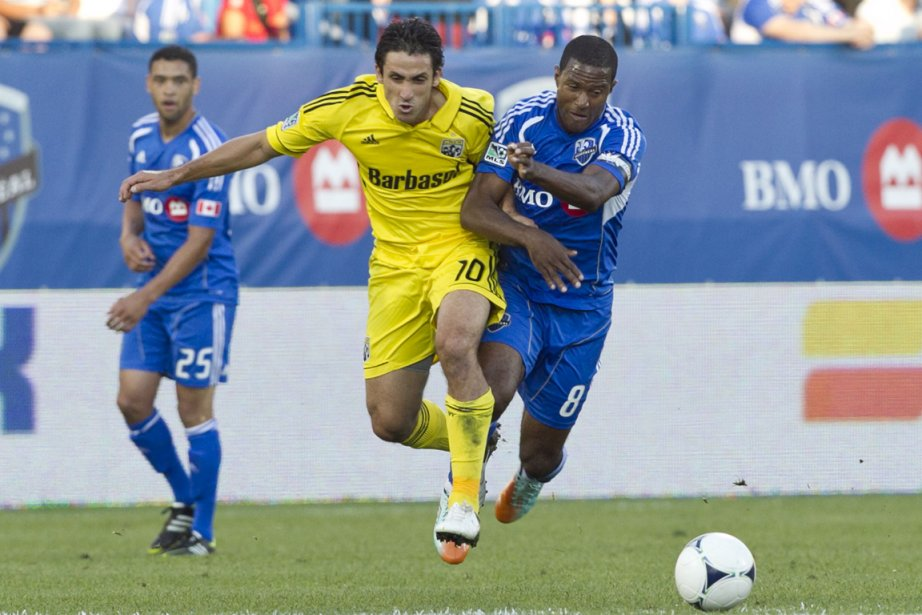 Avec quatre matchs à jouer, Patrice Bernier (à... (Photo: Hugo-Sébastien Aubert, La Presse)
