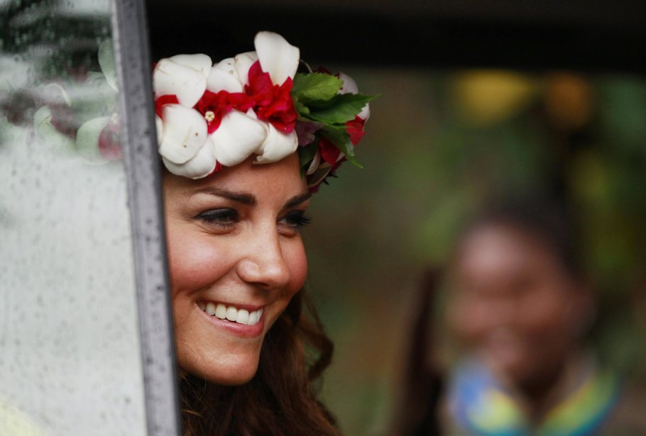 Kate à Honiara, le 17 septembre. | 19 septembre 2012